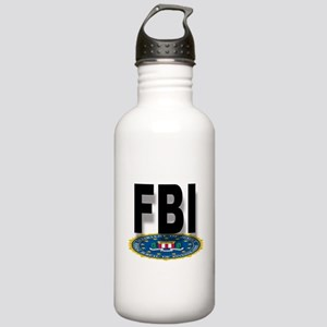 FBI Seal With Text Stainless Water Bottle 1.0L