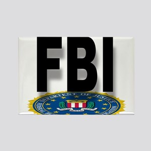 FBI Seal With Text Magnets