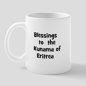 Blessings  to  the  Kunama of Mug