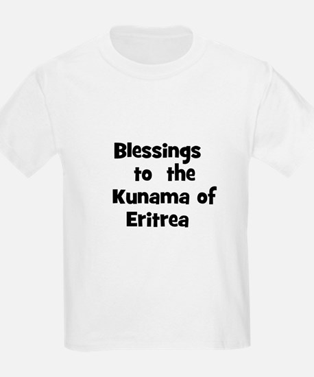 Blessings  to  the  Kunama of T-Shirt