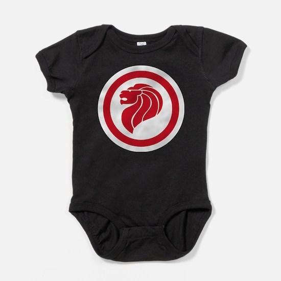 Singapore Lion Roundel Infant Bodysuit Body Suit