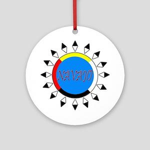 Navajo Ornament (Round)