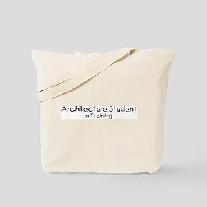 Architecture Student in Train Tote Bag