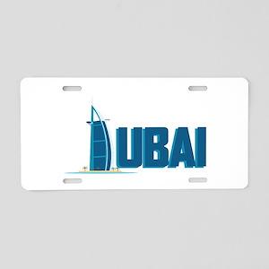 Dubai Hotel Aluminum License Plate