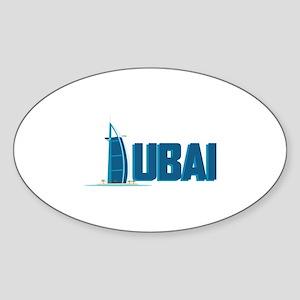 Dubai Hotel Sticker