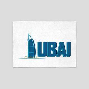 Dubai Hotel 5'x7'Area Rug