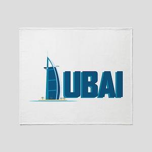 Dubai Hotel Throw Blanket