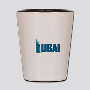 Dubai Hotel Shot Glass