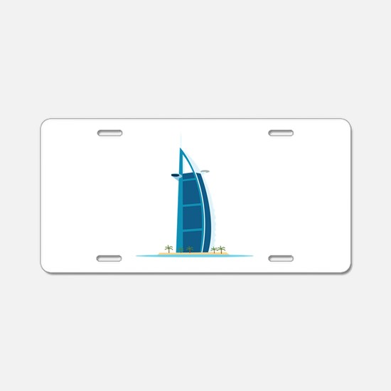 Burj Al Arab Dubai Aluminum License Plate