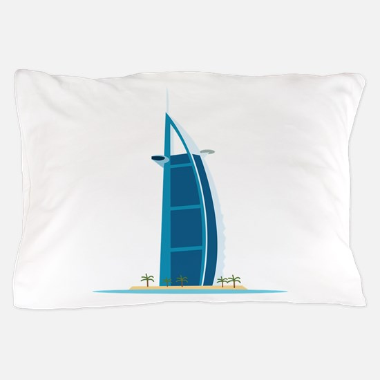 Burj Al Arab Dubai Pillow Case