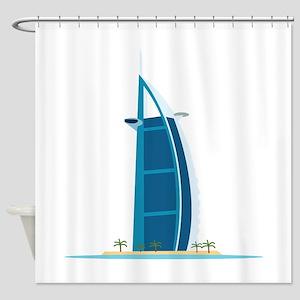 Burj Al Arab Dubai Shower Curtain