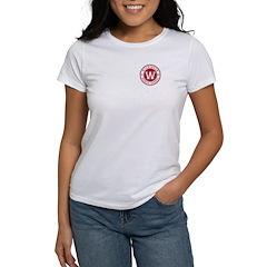 Women's White T-Shirt - Small Logo