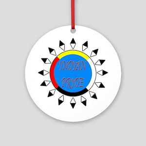 Indian Pride Ornament (Round)