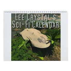 Lee Crystal's Sci-Fi Wall Calendar