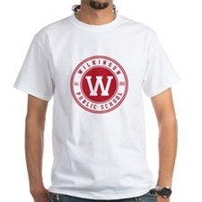 Men's White T-Shirt - Large Logo