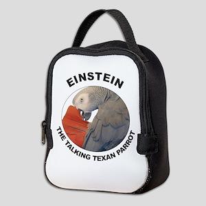 Einstein The Talking Texan Neoprene Lunch Bag