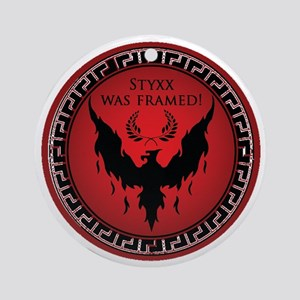 Styxx Was Framed Ornament (Round)