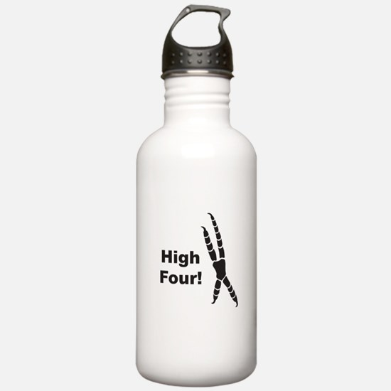High Four Water Bottle