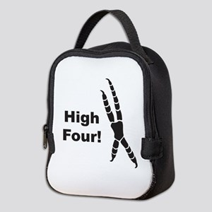 High Four Neoprene Lunch Bag