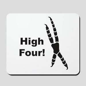 High Four Mousepad