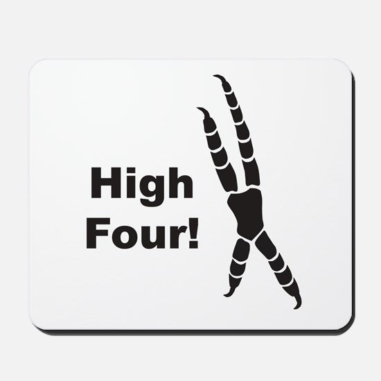 High Four Mousepad