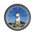 Fond Du Lac Lighthouse Wall Clock