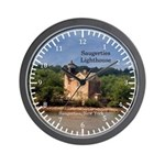 Saugerties Lighthouse Wall Clock