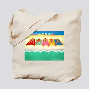 Summer Sun Beach Tote Bag