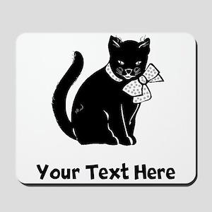 Black Cat (Custom) Mousepad