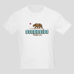 Oceanside - California. Kids Light T-Shirt