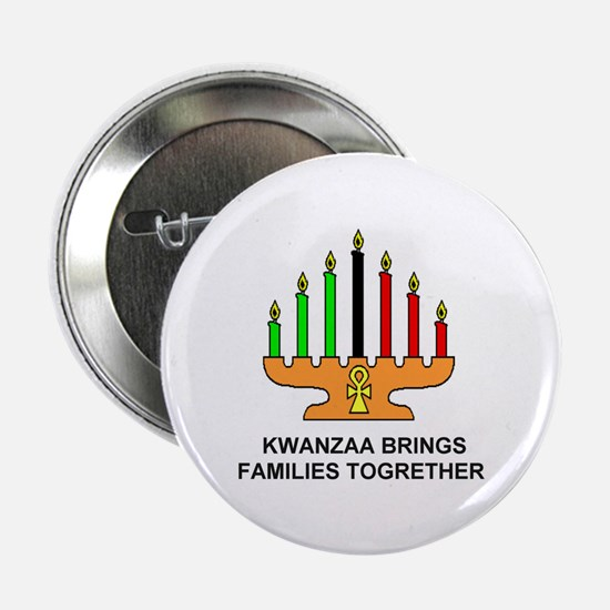 "Kwanzaa Families 2.25"" Button"