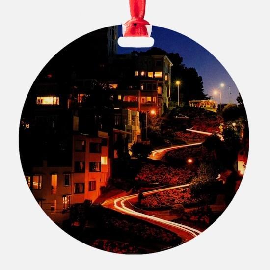 Lombard Street San Francisco Ornament
