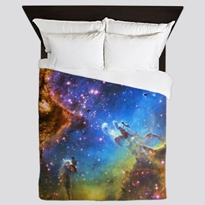 Eagle Nebula Queen Duvet