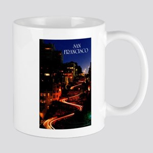 Lombard Street San Francisco Mugs