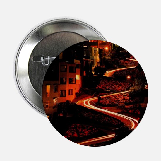 """Lombard Street San Francis 2.25"""" Button (100 pack)"""