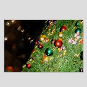 Merry Christmas Tree Postcards (Package of 8)