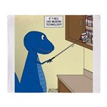 T-Rex Tools Throw Blanket