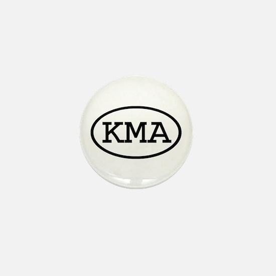 KMA Oval Mini Button