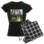 Moon Tower Women's Dark Pajamas