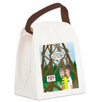 Moon Tower Canvas Lunch Bag
