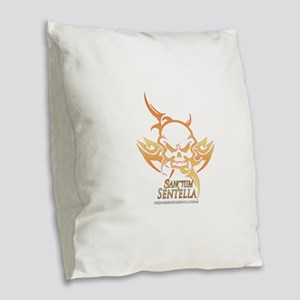 Sentella Burlap Throw Pillow