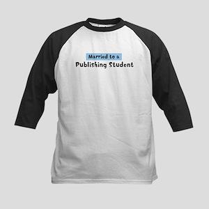Married to: Publishing Studen Kids Baseball Jersey