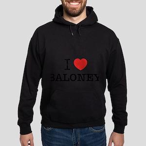 I Love BALONEY Hoodie (dark)