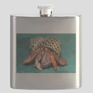 Purple Pincher hermit crab Flask