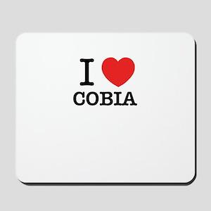 I Love COBIA Mousepad