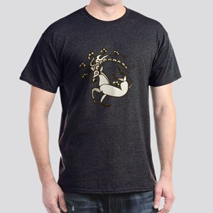Pazyryk Deer Dark T-Shirt (dark design)