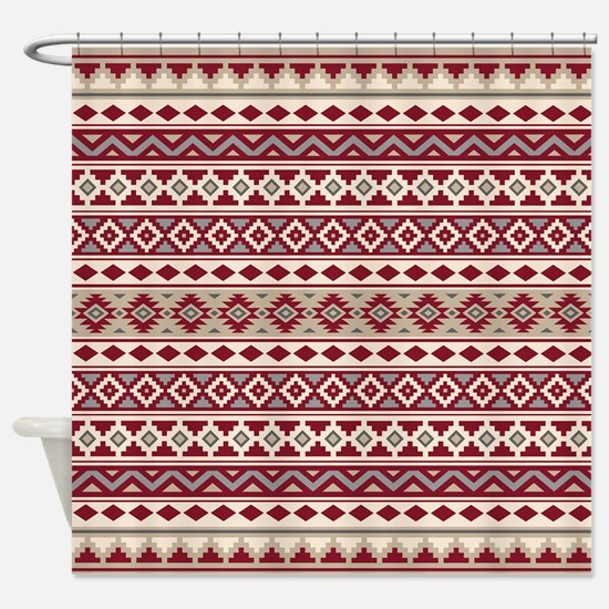 Aztec Essence Iib Rgcs Shower Curtain