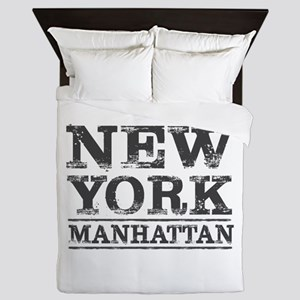 MANHATTAN NEW YORK NEW YORK Queen Duvet