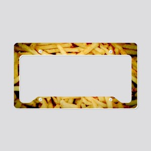 French Fries License Plate Holder
