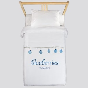 Blueberries Twin Duvet